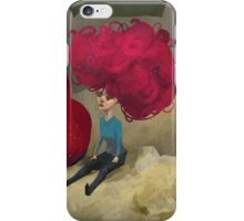 The Girl and the Troll iPhone Case/Skin
