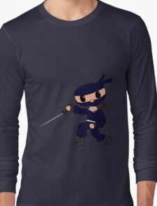 Chibi Ninja Vio Long Sleeve T-Shirt