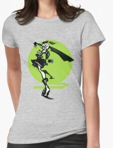 Youmu Abstract Green Womens Fitted T-Shirt