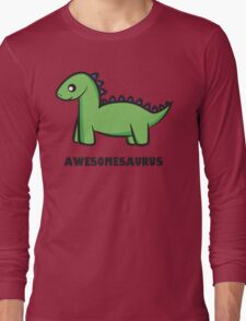 Awesomesaurus (green) Long Sleeve T-Shirt