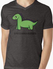 Awesomesaurus (green) Mens V-Neck T-Shirt