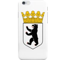 Coat of Arms of Berlin iPhone Case/Skin