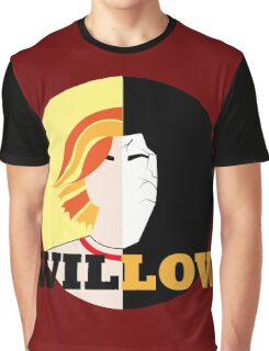 The Many Faces Of Willow Graphic T-Shirt