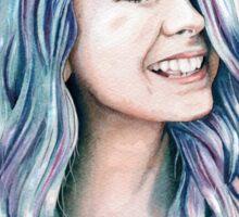 Watercolour Zoella Sticker