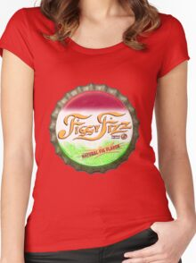 Figgy Fizz - Bert's missing bottle cap Women's Fitted Scoop T-Shirt