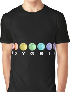 ROYGBIV Moons Graphic T-Shirt