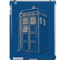 Tardis Blue iPad Case/Skin