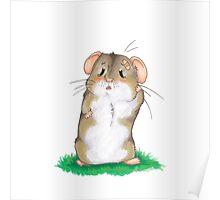 Sad hamster Poster