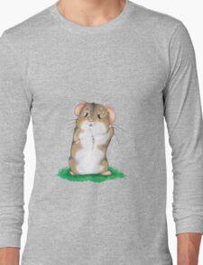 Sad hamster Long Sleeve T-Shirt