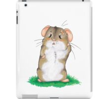 Sad hamster iPad Case/Skin