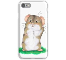 Sad hamster iPhone Case/Skin