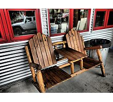 Have a Seat.  Creede, Colorado Photographic Print