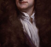 Sir Isaac Newton by Sir Godfrey Kneller Sticker
