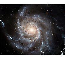 Spiral galaxy Messier 101. Photographic Print