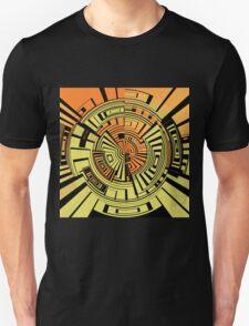 Futuristic technology abstract Unisex T-Shirt
