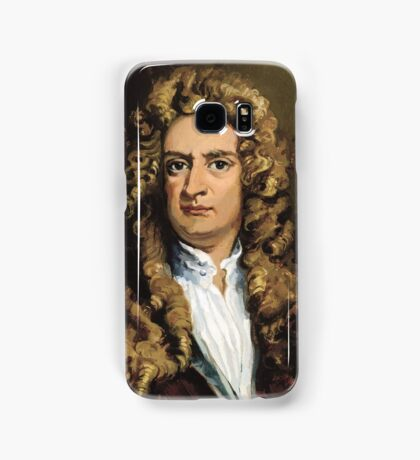Sir Isaac Newton Painting Samsung Galaxy Case/Skin
