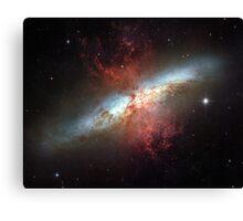 Starburst galaxy, Messier 82 Canvas Print