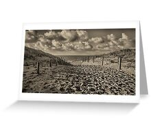 Dutch Seascapes, Lets walk to the beach Greeting Card