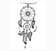 Ethnic dream catcher with feathers by naum100