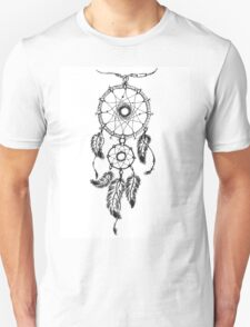 Ethnic dream catcher with feathers T-Shirt
