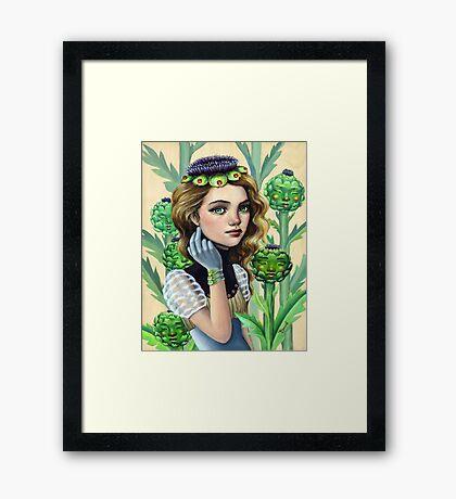 Artichoke's Heart Framed Print