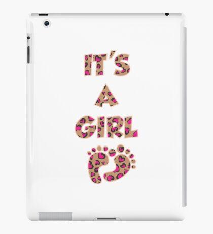 Its a Girl iPad Case/Skin