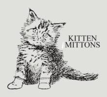 Kitten Mittons by redgift