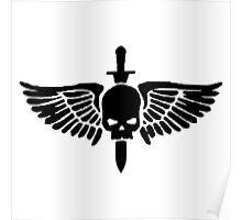 Space Marine Symbol Poster
