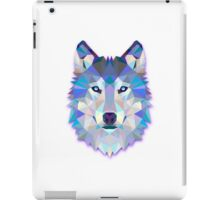 Polygonal Wolf iPad Case/Skin