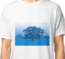 Cold Tree In A Field Of Blue Classic T-Shirt
