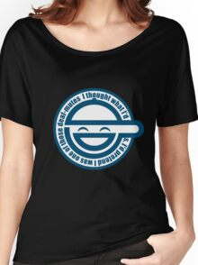 Ghost in the shell laughing man Women's Relaxed Fit T-Shirt