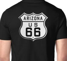 ARIZONA, America, U.S, Route 66, Music, USA, 1926 to 1948, Americana Unisex T-Shirt