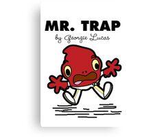 Mr Trap Canvas Print