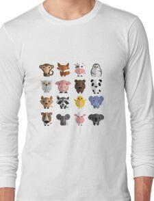 Flat animals Long Sleeve T-Shirt