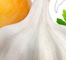 Onion and garlic Sticker