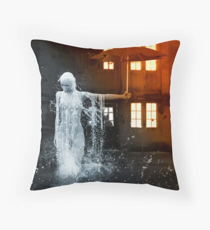 The Rain Inside Throw Pillow