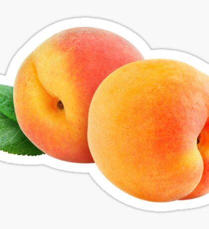 Two peaches Sticker