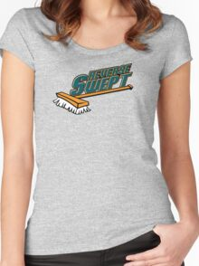 Reverse Swept Women's Fitted Scoop T-Shirt