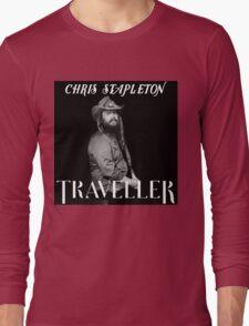 NEW CHRIS STAPLETON TRAVELLER 2016 ART LOGO YSTR Long Sleeve T-Shirt