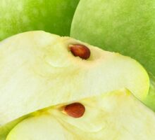 Green 'Granny smith' apples Sticker