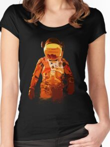 The Martian Women's Fitted Scoop T-Shirt