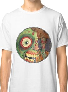 Apocalyptic circle of undead Classic T-Shirt