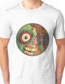 Apocalyptic circle of undead Unisex T-Shirt