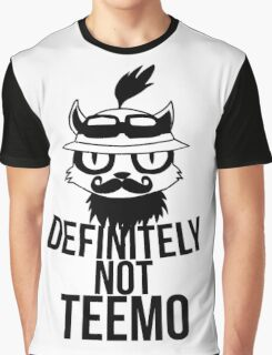 Definitely not :3 Graphic T-Shirt