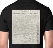 American, Declaration of Independence, United States of America, American Independence, USA Unisex T-Shirt