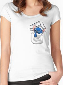 Badness Level Rising Women's Fitted Scoop T-Shirt
