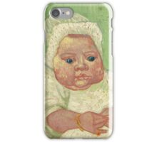Vincent van Gogh LE BÉBÉ MARCELLE ROULIN iPhone Case/Skin