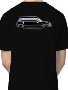 MINI, CAR, BLACK, BMW, BRITISH ICON, MOTORCAR Classic T-Shirt