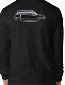 MINI, CAR, BLACK, BMW, BRITISH ICON, MOTORCAR Long Sleeve T-Shirt