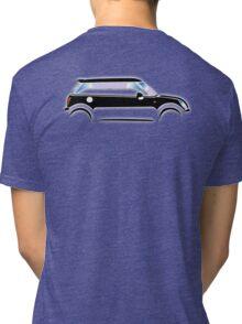 MINI, CAR, BLACK, BMW, BRITISH ICON, MOTORCAR Tri-blend T-Shirt